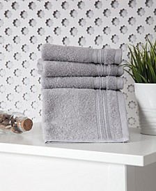 Cascade Washcloth 4-Pc. Set