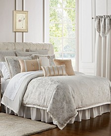 Belissa Reversible California King 4 Piece Comforter Set