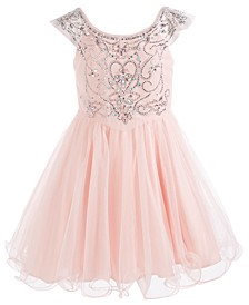 Big Girls Crystal Party Dress