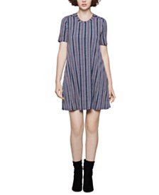 BCBGeneration Striped T-Shirt Dress