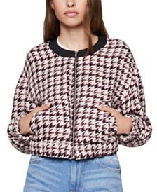 BCBGeneration Tweed Bomber Jacket