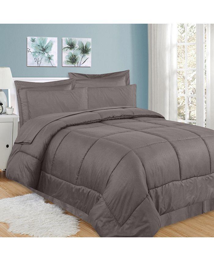 Sweet Home Collection - Greek Key 8-Pc. King Comforter Set