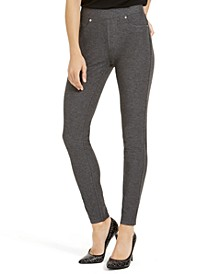 Stretch Twill Leggings, Regular & Petite Sizes