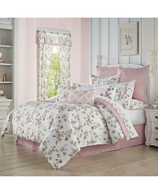 Rosemary Rose California King 4pc. Comforter Set