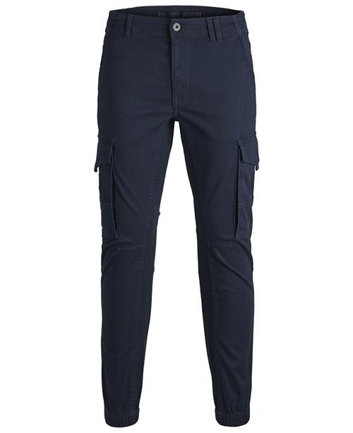 Jack & Jones Men's New Autumn Cargo Cuffed Pant