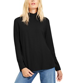 Eileen Fisher Mock-Neck Sweater
