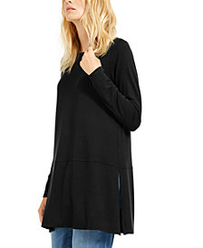 Eileen Fisher Boat-Neck Tunic, Created For Macy's