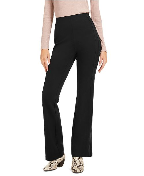 INC International Concepts INC Curvy Seamed Bootcut Pants, Created for Macy's