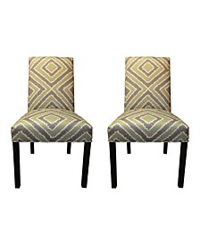 Nouvea Upholstered Dining Chair Set, Set of 2