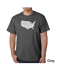 Men's Word Art T-Shirt - The Star Spangled Banner