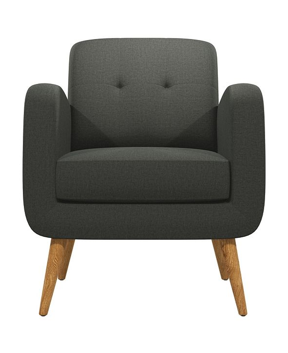 Handy Living Kenneth Mid Century Modern Arm Chair