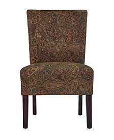 Dennis Paisley Chairs, 2 Pack