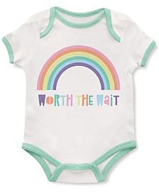 Emerson and Friends Baby Unisex Worth The Wait Rainbow Bodysuit