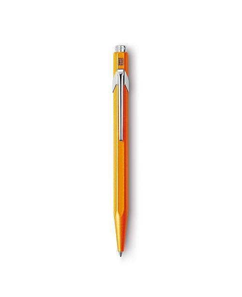 CARAN d'ACHE 849 Ballpoint Pen, Popline Orange Fluo with Box