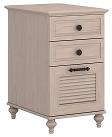 Kathy Ireland Home by Bush Furniture Volcano Dusk 3 Drawer File Cabinet