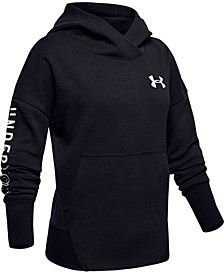 Big Girls Moisture-Wicking Fleece Hoodie