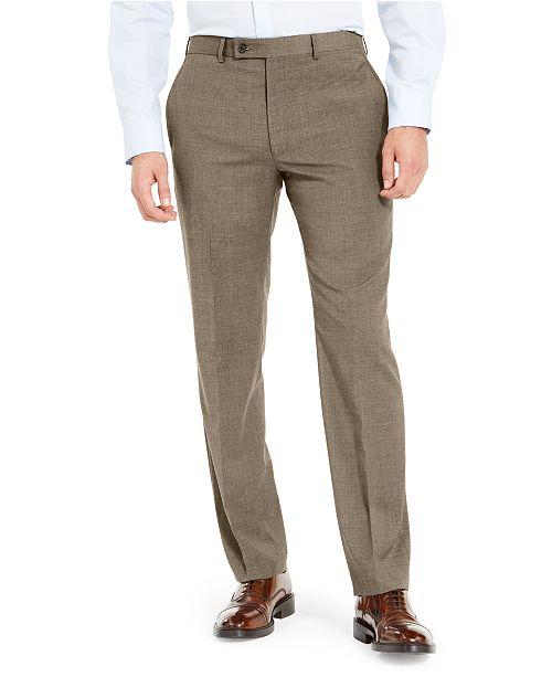 Lauren Ralph Lauren Men's Wool Blend Classic-Fit UltraFlex Stretch Dress Pants