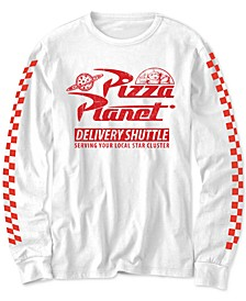 Big Boys Toy Story Pizza Planet Delivery Shuttle T-Shirt