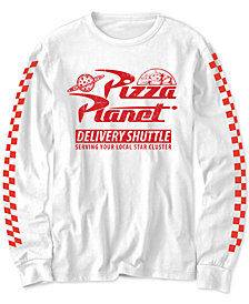 Disney Big Boys Toy Story Pizza Planet Delivery Shuttle T-Shirt