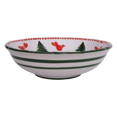 Uccello Rosso Large Serving Bowl