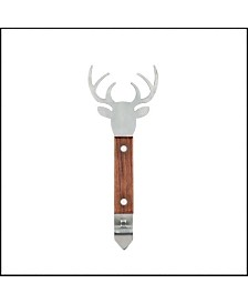Foster & Rye Stag Acacia Wood Bottle Opener