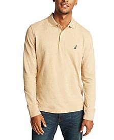 Men's Long Sleeve Logo Polo Shirt