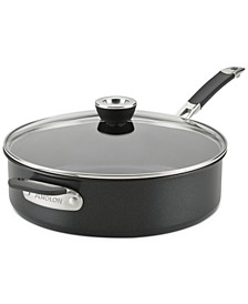 SmartStack Hard-Anodized 5-Qt. Covered Sauté Pan