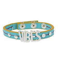 """BCBGeneration """"VIBES"""" Affirmation Strap Bracelet"""