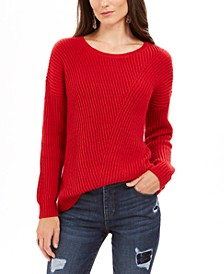 Ribbed Drop-Shoulder Sweater, Created For Macy's