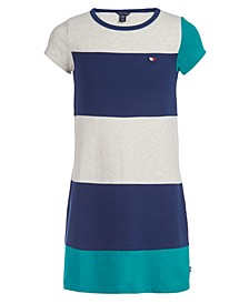 Big Girls Colorblocked T-Shirt Dress