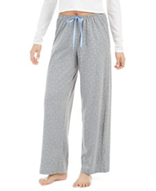 Hue® Women's Heart-Print Pajama Pants