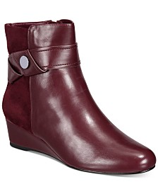 Impo Gratia Wedge Booties (Created for Macy's)