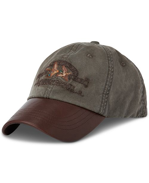 Polo Ralph Lauren Men's Cotton Canvas Sport Hat
