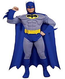 Buy Seasons Men's Batman Brave and Bold Deluxe Muscle Chest Costume