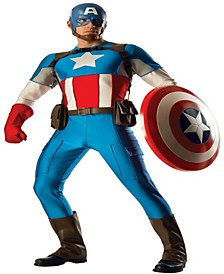 Buy Seasons Men's Captain America Grand Heritage Costume