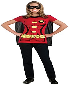 Buy Seasons Women's Robin T-Shirt Costume Kit