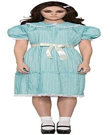Buy Seasons Women's Creepy Sister Grady Twins Dress Costume
