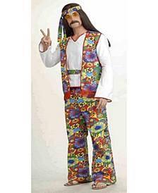 Buy Seasons Men's Hippie Man Costume
