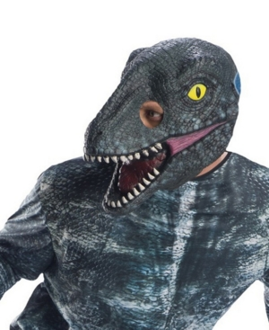 Buy Seasons Adult Jurassic World: Fallen Kingdom Velociraptor 3/4 Mask