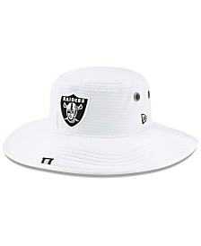 New Era Oakland Raiders Training Panama Bucket Hat