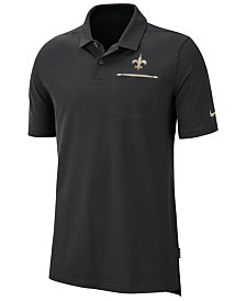 Nike Men's New Orleans Saints Dry Elite Polo