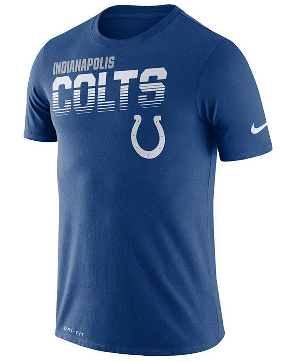 Nike Men's Indianapolis Colts Sideline Legend Line of Scrimmage T-Shirt