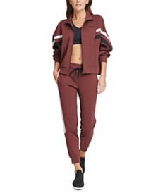 DKNY Sport Colorblocked Track Jacket