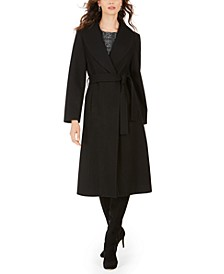 Belted Maxi Coat