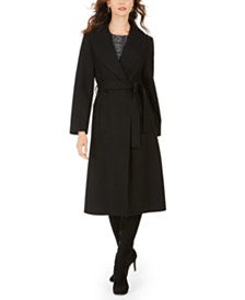 Jones New York Belted Maxi Coat