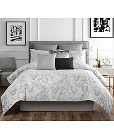 Normandy 4 Piece King Comforter Set
