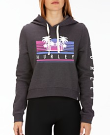 Hurley Tropicana Cropped Fleece Hoodie