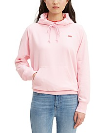 Women's Logo-Graphic Fleece Hoodie
