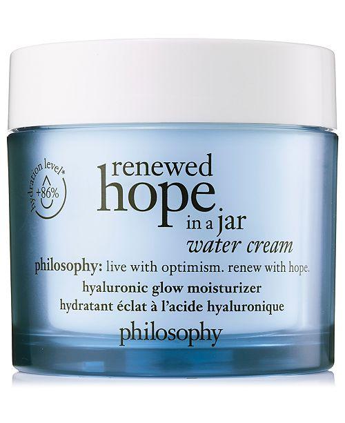 philosophy Renewed Hope In A Jar Water Cream, 2 oz.