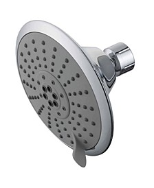 Showerscape 5 Function 5-Inch 1.75GPM ABS Shower Head with ABS Bal-Jnt in Polished Chrome
